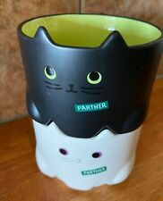 2020 STARBUCKS JAPAN Halloween Black /& White Stacking Mug Cats from JAPAN NEW