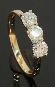 9-Carat-Yellow-Gold-3-Stone-Diamond-Ring-1-00ct-Size-O-80-20-122