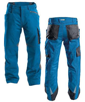 Dassy Spectrum Bundhose Arbeitshose Azurblau/grau Workwear Codura 250g/m² SchöN Und Charmant