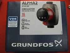 Grundfos Alpha 2 25-60 Umwälzpumpe + Isolierung 180 mm NEU Pumpe Heizungspumpe