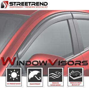For-1997-2003-Montero-Sport-Sun-Rain-Guard-Smoke-Shade-Deflector-Window-Visors