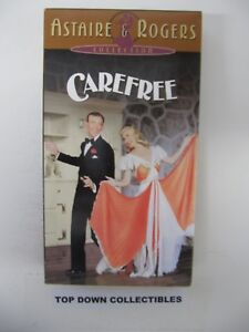 Carefree Fred Astaire Ginger Rogers Vhs Movie Ebay