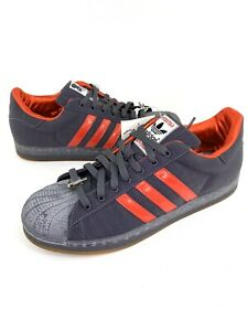 Adidas Superstar Shell Toes Red Hot