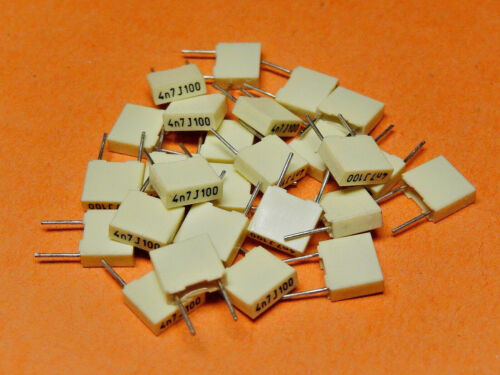 25x KEMET Capacitor R82 0.0047uF 100V p=5mm R82EC1470AA50J