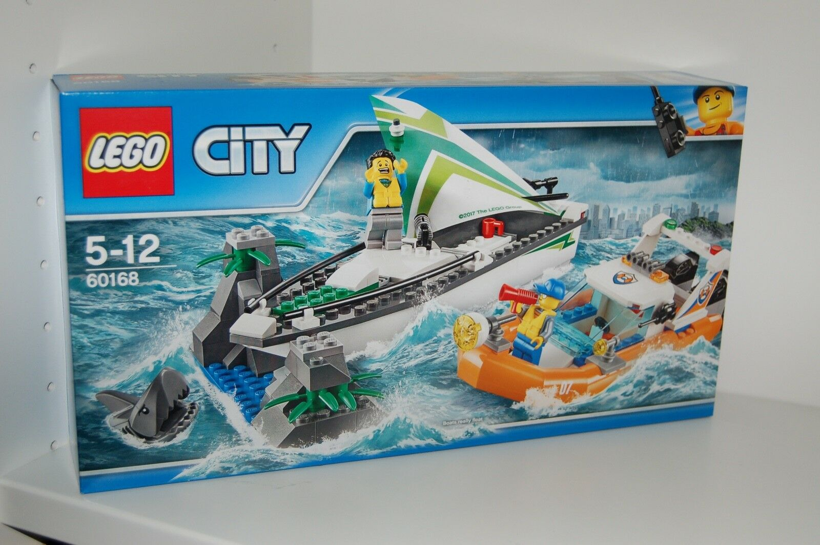 LEGO City 60168 Küstenwache Seyellowoot in Not NEU  passt zu 60014,60167,60166