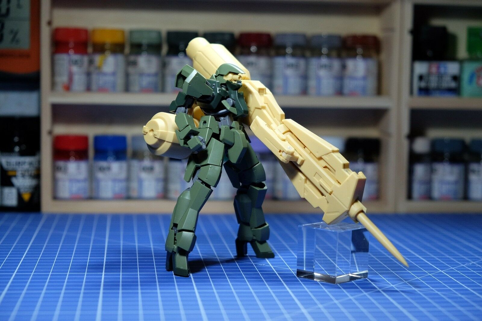 Model Legend 1 144 Dainsleif Type Railgun Weapon for Graze Bandai HG Kit