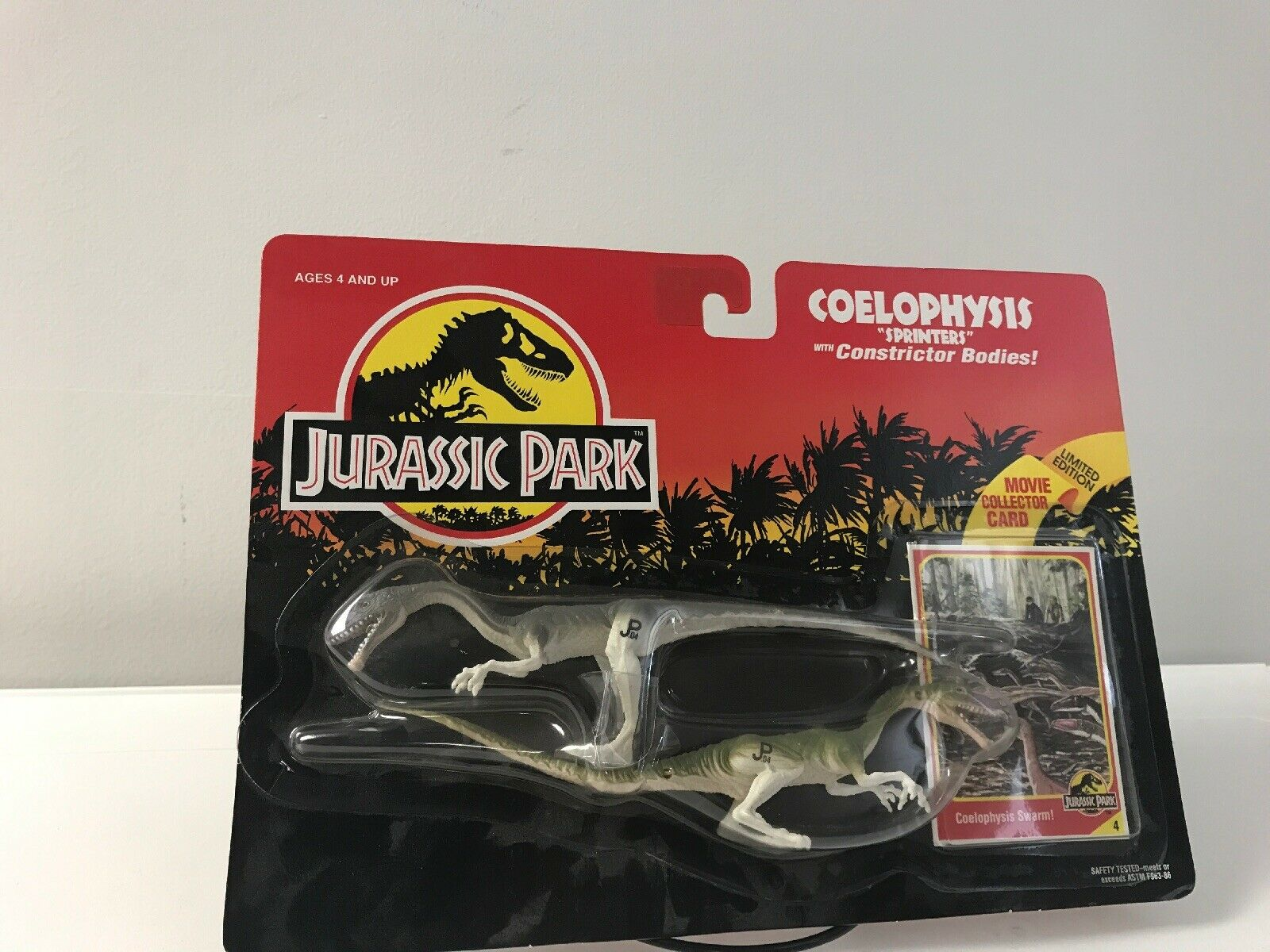 Jurassic  Park Coelophysis Sprinters Constrictor Bodies Kenner MOC 1993  parfait