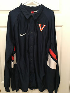 Virginia-UVA-Cavaliers-Basketball-Team-Issued-Nike-Button-Warmup-Jacket-2XL