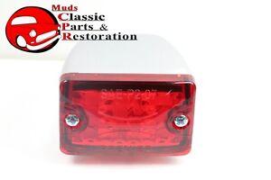Custom Mini LED Lights Red Stop Tail Turn Signal Clearance Marker Truck Hot Rod