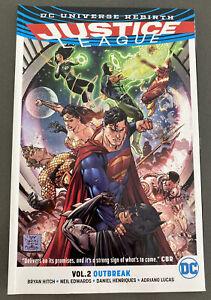 DC Comics Justice League TPB Rebirth Vol 2 Superman Batman Flash Wonder Cyborg