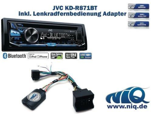 Ibiza Leon Lenkrad Fernbedienung Adapter Seat Altea JVC KD-R871BT inkl To