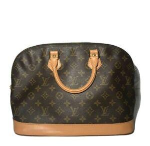 Authentic Louis Vuitton Handbag Alma