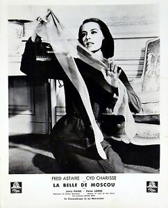 bc5fa01f1e7 Image is loading SILK-STOCKINGS-1957-Cyd-Charisse-FRENCH-LOBBY-CARD