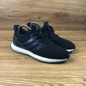 promo code 38167 c6209 Details about Adidas Ultra Boost 4.0 Black Athletic Running Shoes Men's  Size 8 Sneakers BB6148