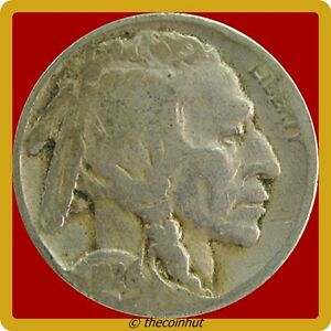 1928-P-Buffalo-Indian-Head-Nickel-Coin-Good-US-Mint-Coins-Coinhut4569