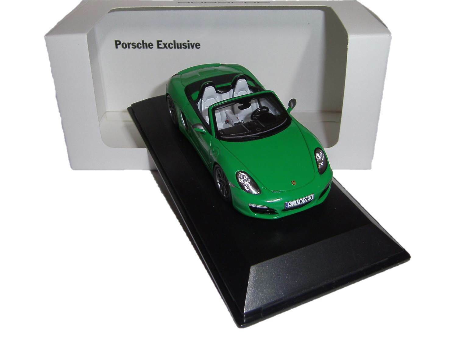 Porsche Exclusive Boxster S - Ltd. Edition No. 333 333 333 500 - Spark 1 43 WAX20130021  | Optimaler Preis
