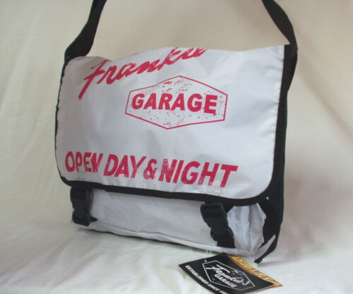 Frankies Garage Handtasche Tasche  Schultertasche Umhängetasche Messenger-bag