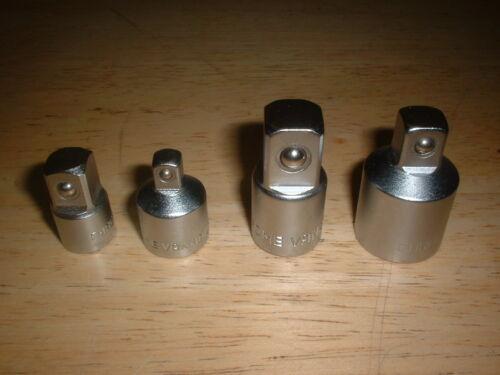 0.6cm 1cm 1.3cm Steckdosenadapter Umformer Reduzierer Satz 4 Ratschenschlüssel