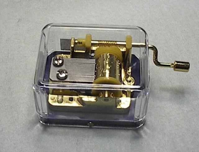 Hand Crank Music Box  Hurdy Gurdy Beatles
