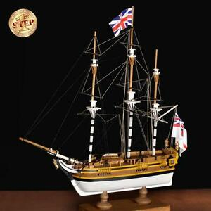 Details About Beginner Friendly New Wooden Model Ship Kit By Amati The Hms Bounty