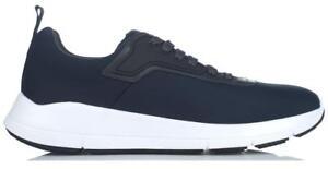 Top 5 Huidig Schoenen Donkerblauw Prada Heren Nieuwe Sneakers Technische Nylon 11 Logo Low nUfw0TqRx
