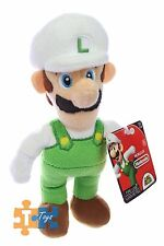 "FIRE LUIGI Super Mario World of Nintendo 2017 Soft Push Figure ""NEW"""