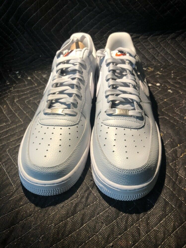 NIKE AIR FORCE 1 PURE PLATINUM WHITE SIZE MEN'S 12 [488298-091]