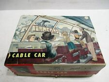 MOUNTIAN CABLE CAR BATTERY OPERATED MINT IN BOX MADE IN JAPAN BY BANDAI