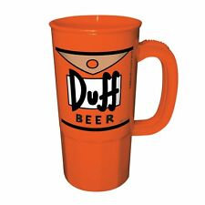 DUFF BEER - SIMPSONS - PLASTIC STEIN - BRAND NEW - 22 OUNCES HOMER 09101