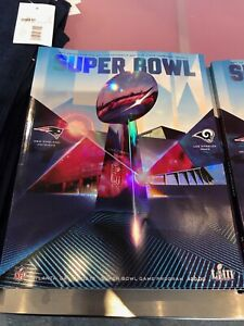 Super-Bowl-LIII-53-NFL-Official-Holographic-Stadium-Edition-Program-Atl-GA-NEW