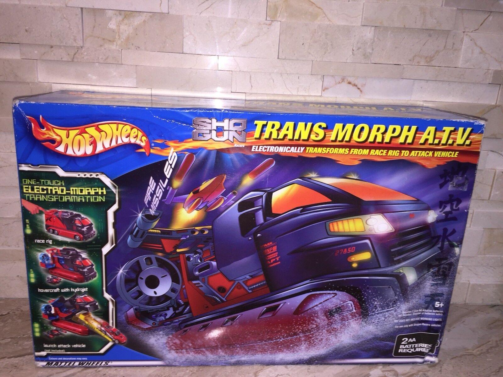 Hot Wheels Sho Gun Trans Morph all-terrain véhicule