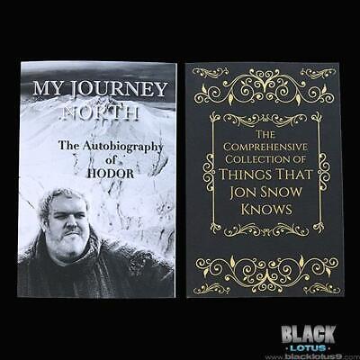 Game of Thrones Autobiography Hodor My Journey North Jon Snow Parody Season 8