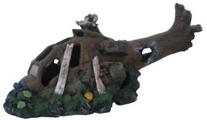 Small-Crashed-Helicopter-Ornament