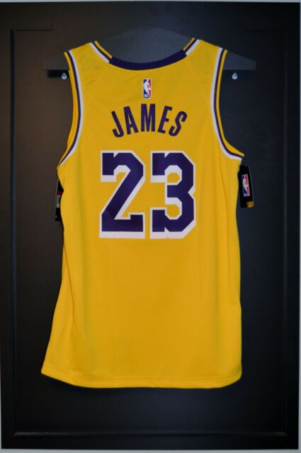 a1719eb7628 Lebron James Los Angeles Lakers Nike Icon Swingman Jersey Size X-Large