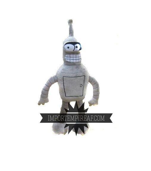 FUTURAMA BENDER PELUCHE GRANDE 40 CM  pupazzo robot plush doll figure simpson
