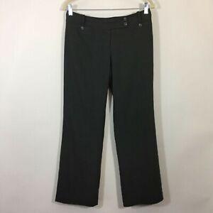 Ann-Taylor-Dress-Pants-Women-Size-4P-Petite-Gray-LINDSAY-Career-Trouser-Slacks