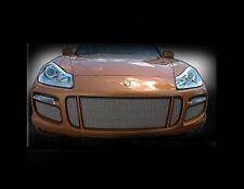 Porsche Cayenne Turbo Mesh Grille Grille Kit Grill 08- 2009 5pcs Black or Chrome