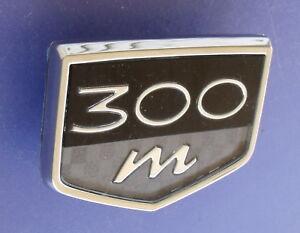 Chrysler 300M 300 M Fender emblem badge decal logo symbol 300 OEM Factory Stock
