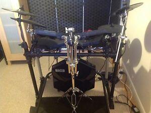 electronic drum kit simmons roland alesis ebay. Black Bedroom Furniture Sets. Home Design Ideas