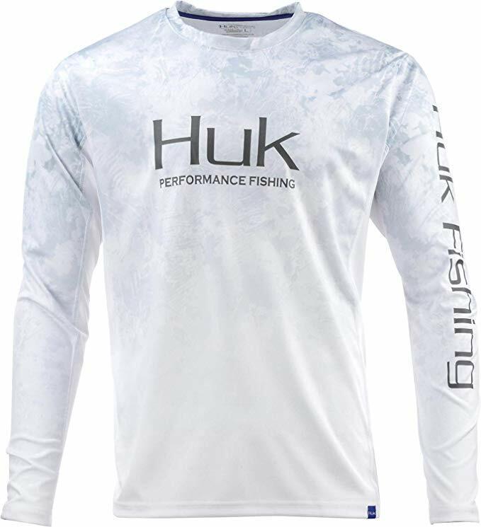 Huk  Men's Icon X Camo Fade Shirt, SubPhantis Sub Zero, Large  shop online