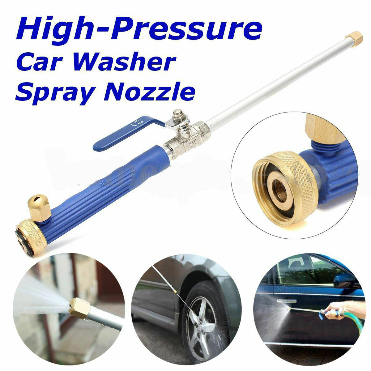 High Pressure Power Washer Spray Nozzle New Water Hose Wand Attachment New Ebay