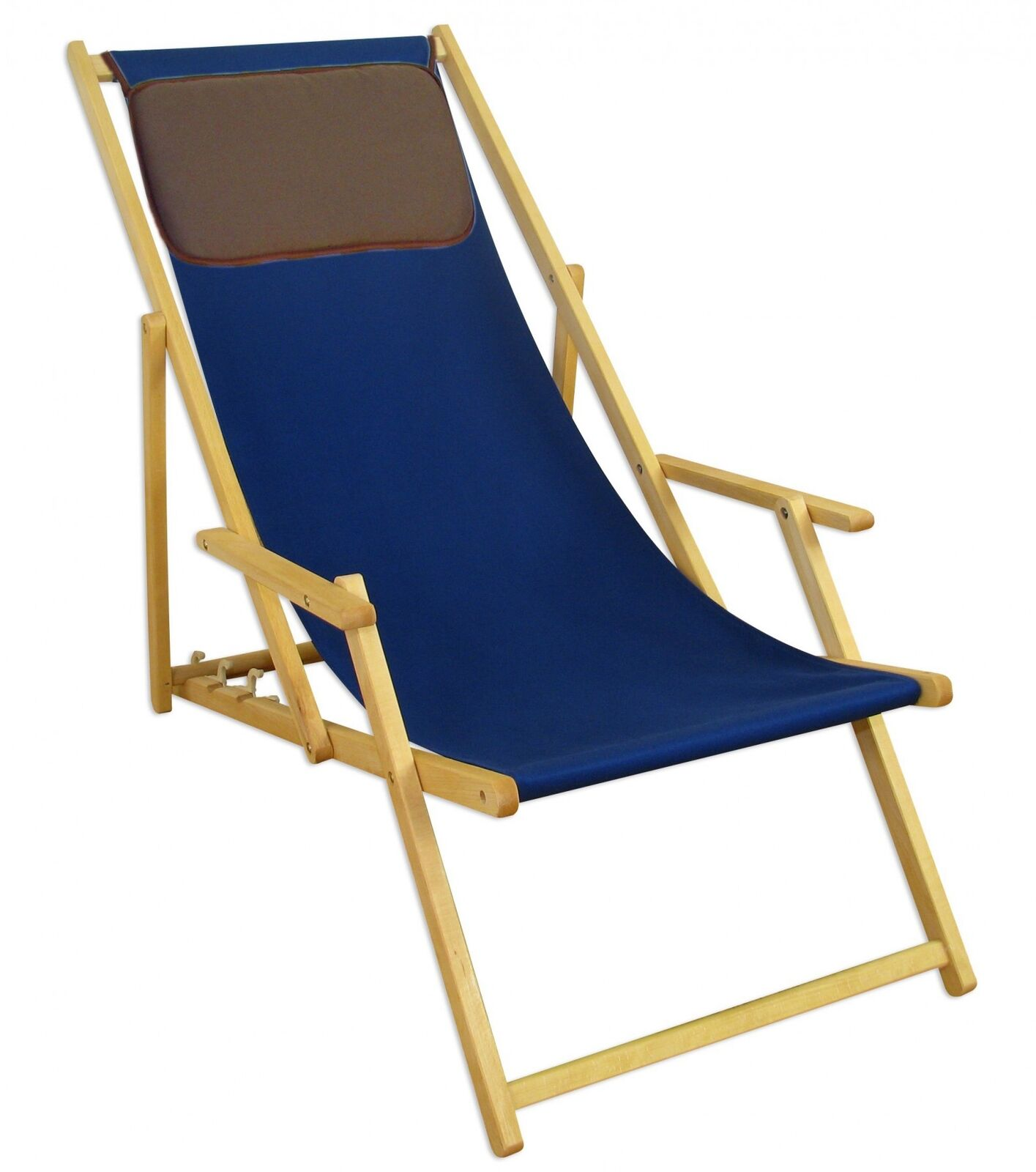 Dune azul silla tumbona tumbona solar haya tumbona de jardín muebles de jardín 10-307 NKD