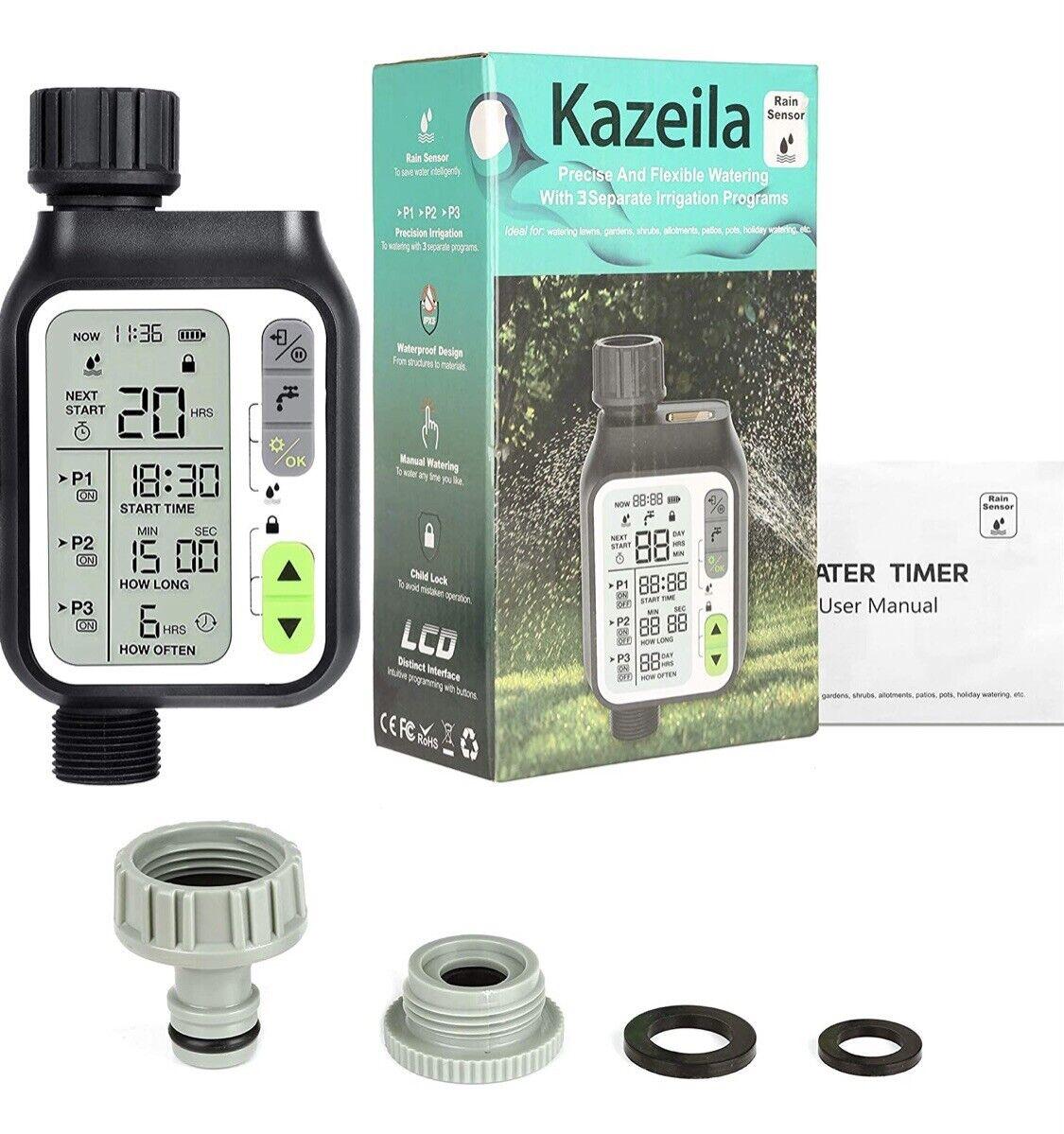 Kazeila automatic watering timer with rain sensor