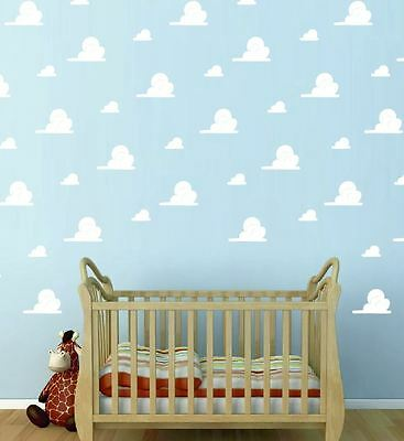 Toy Story Clouds Andy S Room Cloud Wall Stickers Removbale Kids