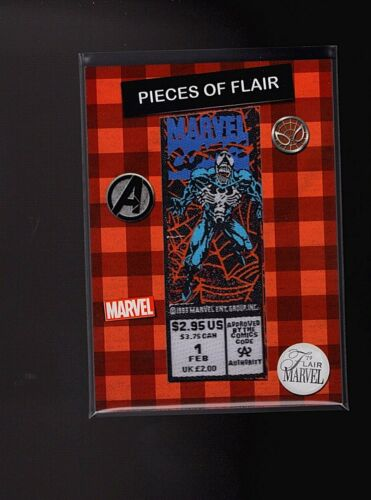 2019 Flair Marvel Pieces of Flair Comic Patch POF18 Venom Lethal Protector #1