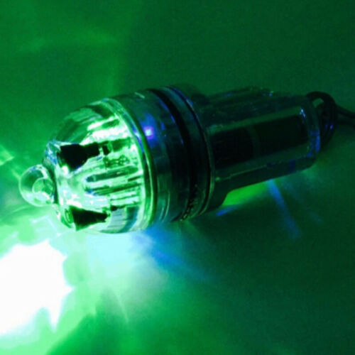 Deep Drop LED Fishing light 2100 ft 700m Fish Disco Blinking 3 colors Bright