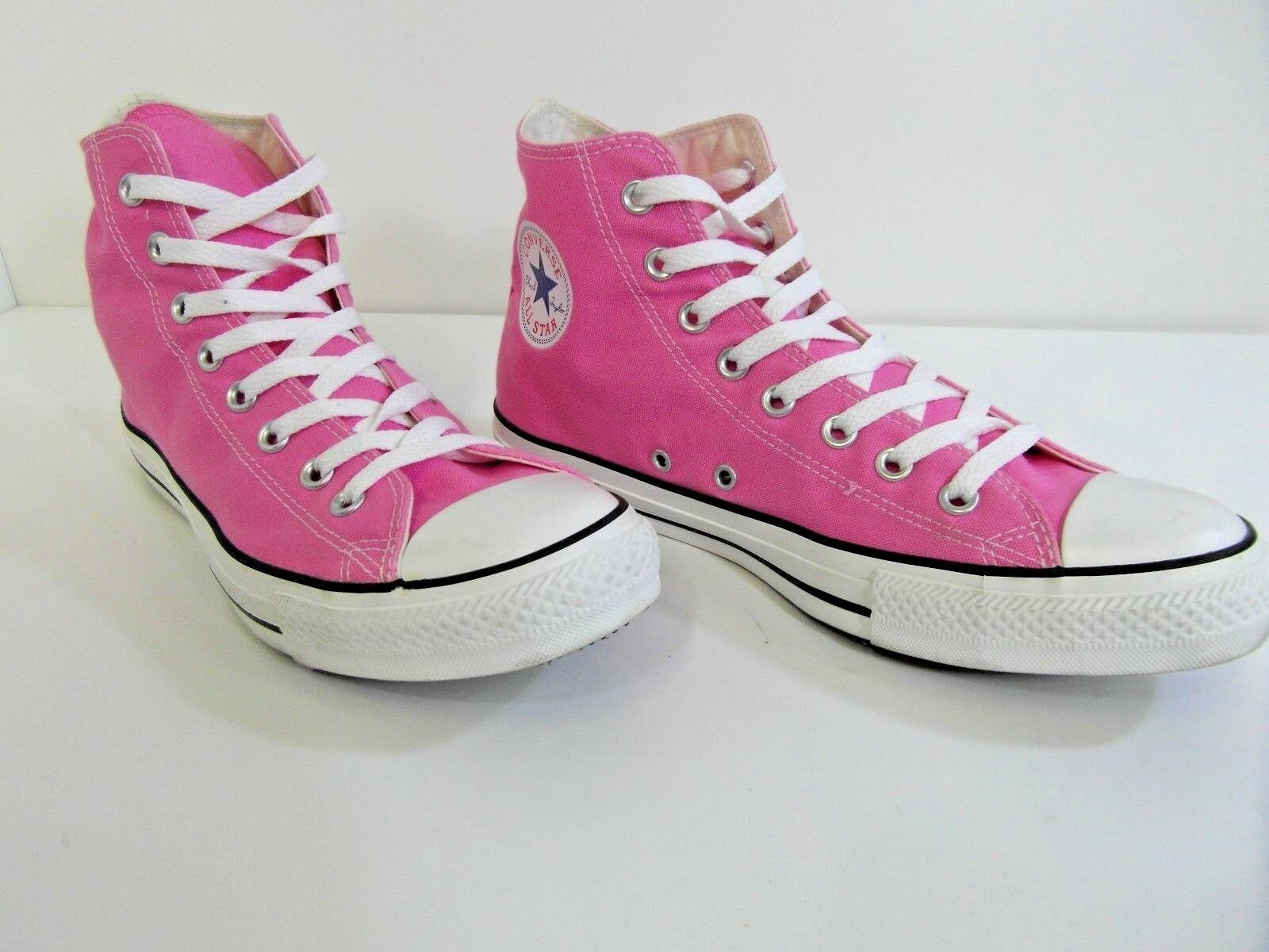 CONVERSE SNEAKERS ALL STAR CHUCK TAYLOR PINK HIGH TOP SNEAKERS CONVERSE UNISEX PUMPS TRAINERS UK9 78477f