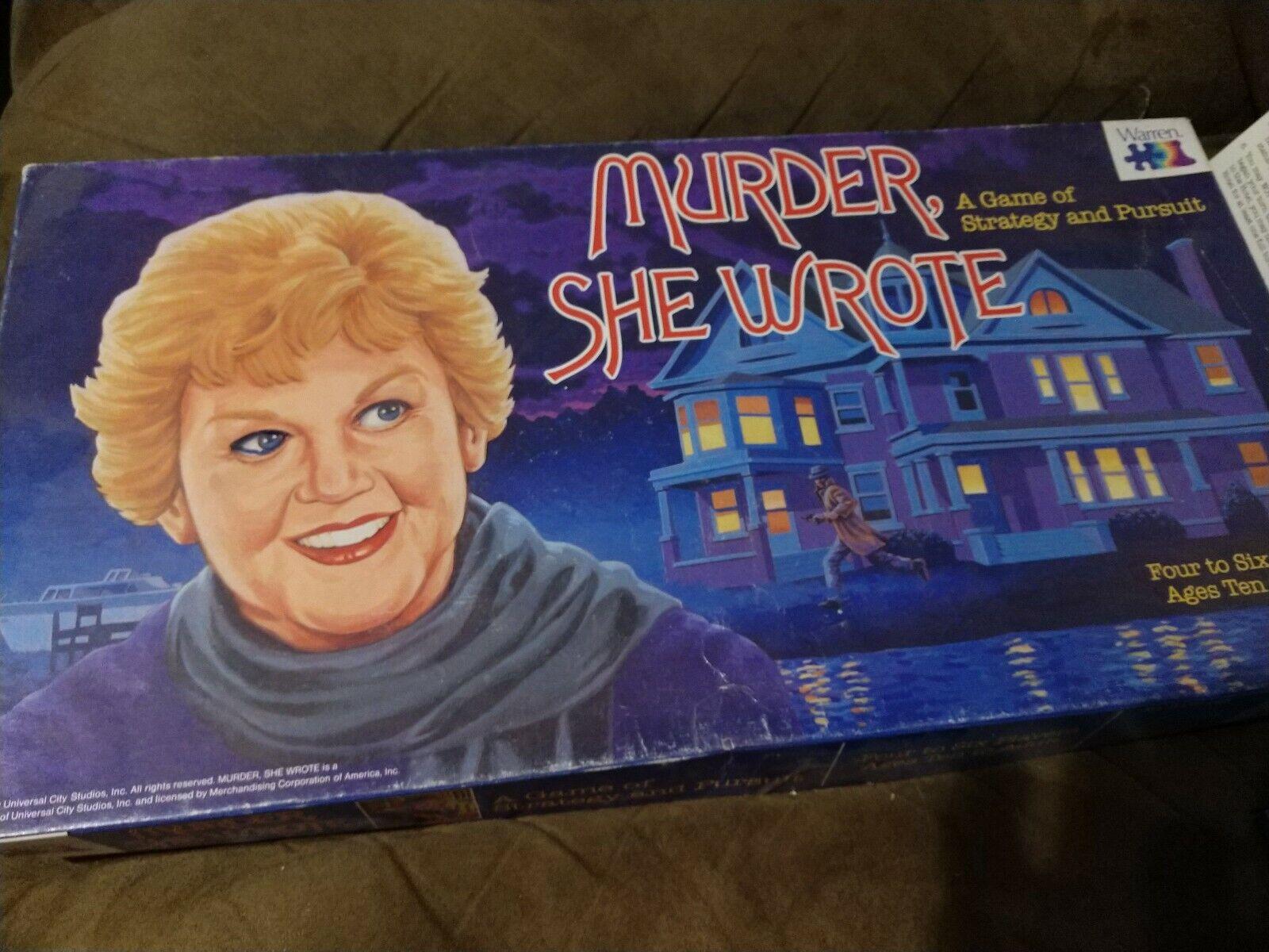 completare Murder She Wrossoe tavola gioco -  1985 vintage  produttori fornitura diretta