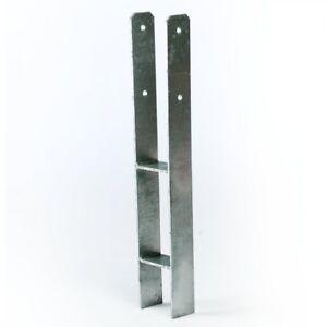 H-Anker-91-mm-Pfostentraeger-Pfostenschuh-fuer-Pfosten-9x9-cm-Spielturm-Carport