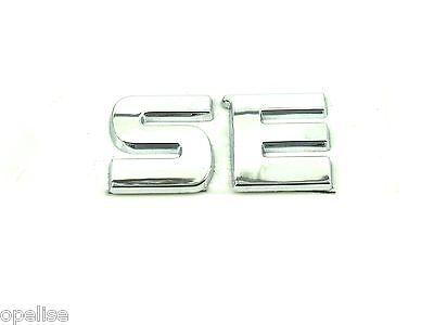 CRDi V6 Genuine New KIA SE BOOT BADGE Rear Emblem For Sedona Carnival II 2006
